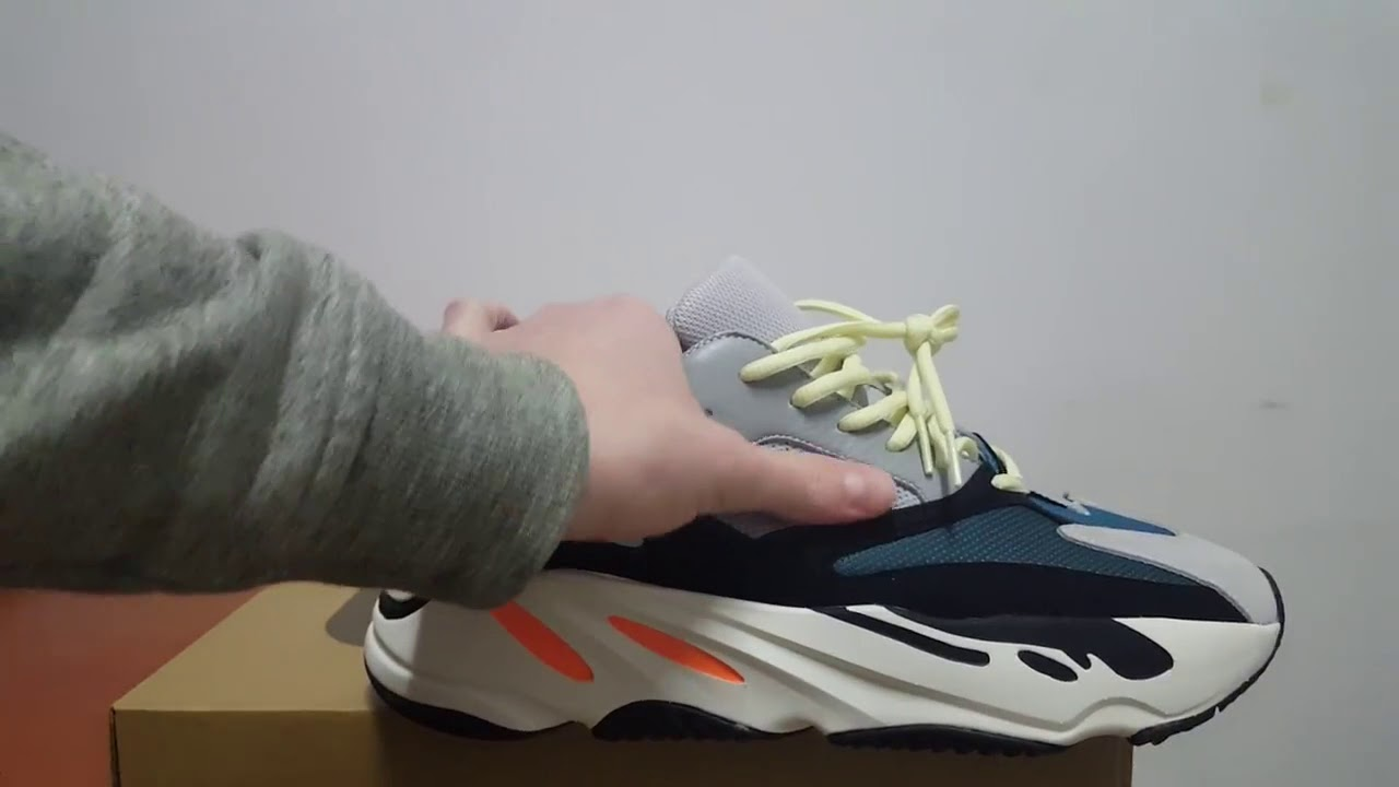 e01078d66e9 ADIDAS YEEZY BOOST 700 WAVE RUNNER REVIEW From G5 Factory - YouTube