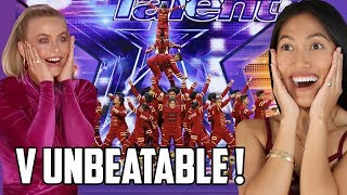 V Unbeatable America's Got Talent Dance Reaction   After The Kings, We Wanted More & AGT Brought It!