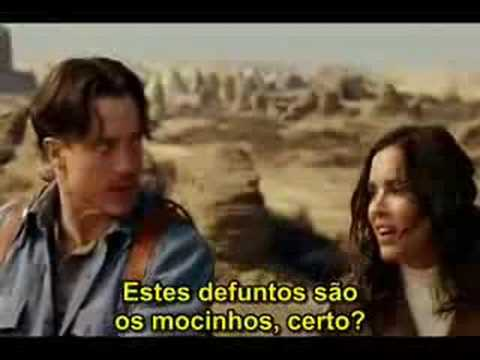Trailer do filme A Múmia
