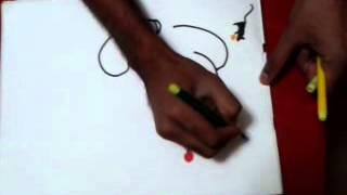 Repeat youtube video akshar ganesh kalakar abhishek chitnis गणपतीची कन्या : संतोषी अक्षर गणपती .