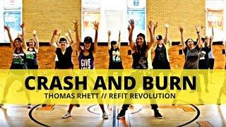 """Crash and Burn""    Thomas Rhett    Cardio Dance Choreography    REFIT® Revolution"