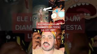 A HISTÓRIA BIZARRA por trás DO DIAMANTE na testa DO RAPPER AMERICANO