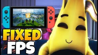 Fortnite FIXED the FPS on Nintendo Switch