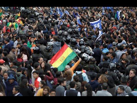 بوليفيا: صدامات بين الشرطة والمتظاهرين المحتجين على نتائج الانتخابات الرئاسية  - نشر قبل 6 ساعة