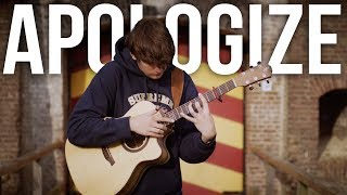 Apologize - Timbaland ft. One Republic - Fingerstyle Guitar Cover