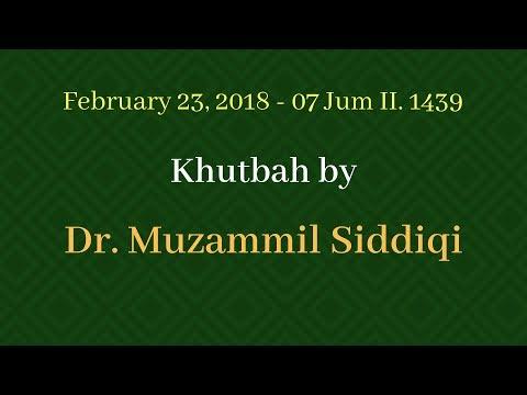Khutbah 2/23/2018
