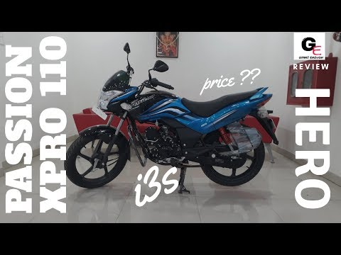 Hero Passion XPro 110 i3s 2018 edition | detailed walkaround review | actual showroom look !!!!!