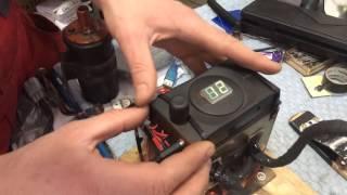 Контактная сварка из микроволновки. Тест(Тест контактной сварки из микроволновки. Таймер вот такой : http://youtu.be/6cSedO5kF38., 2016-04-02T07:43:25.000Z)