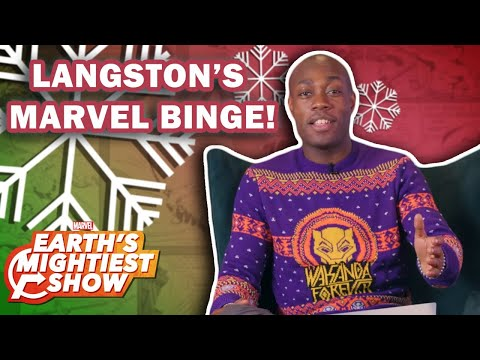 What to Binge Over the Holidays with Langston Belton | Earth's Mightiest Show Bonus