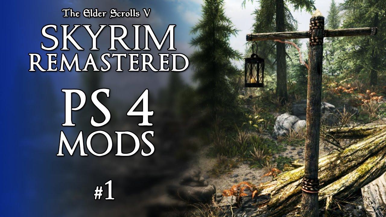 <b>Skyrim</b> Remastered <b>PS4</b> Mods #1 - Gameplay Experience &amp; <b>Cheats</b> ...
