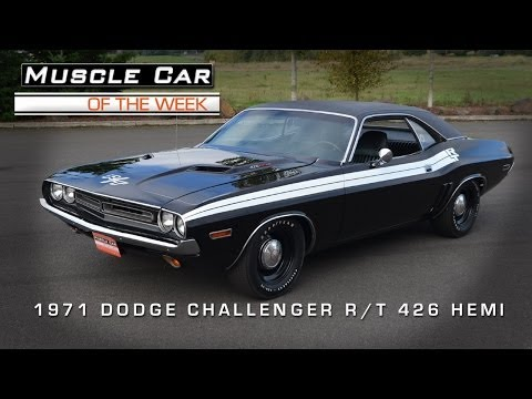 Muscle Car Of The Week Video #38: 1971 Dodge Challenger R/T 426 HEMI Mr. Norm's