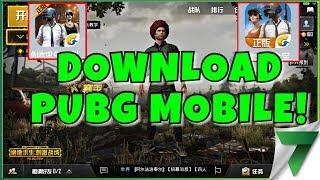 COMMENT FAIRE POUR TÉLÉCHARGER ET JOUER PUBG MOBILE VERSION CHINOISE! | PlayerUnknown du champs de bataille Mobile