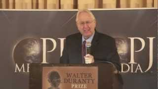 Ron Radosh at the First Annual Walter Duranty Awards