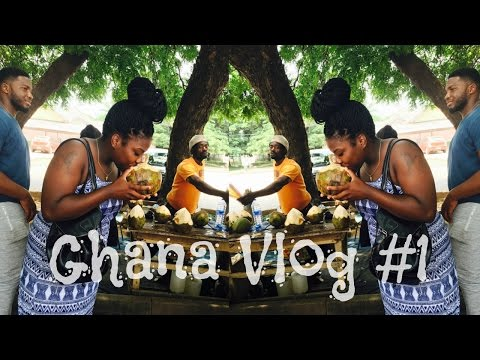 GHANA VLOG #1 | IT FEELS LIKE HOME! (Study Abroad) | DayaRashelle