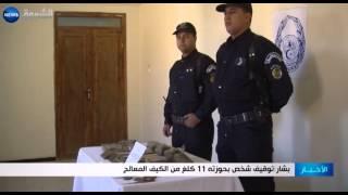 بشار: توقيف شخص بحوزته 11 كلغ من الكيف المعالج