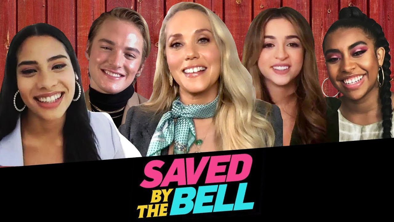 Saved By the Bell 2020 Cast on Possible Season 2, Easter Eggs, Caffeine Pills and SCREECH!