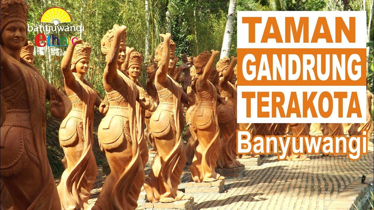 Taman Gandrung Terakota Di Jiwa Jawa Ijen Resort Banyuwangi