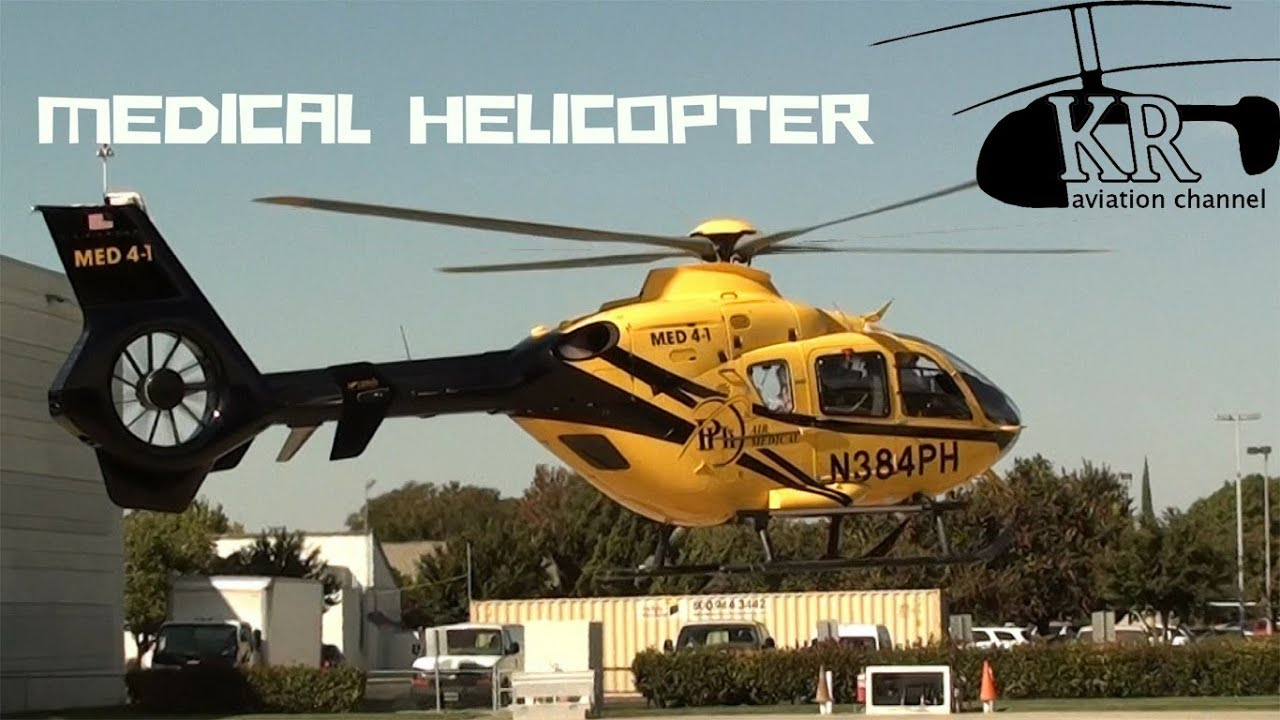 Medical Helicopter Phi Air Medical Ec 135 At Modesto