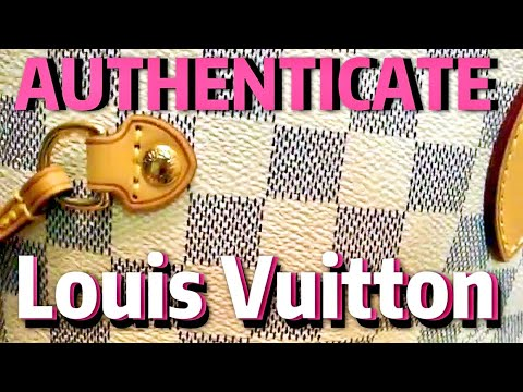 2d4d4a888198 HOW to authenticate a LOUIS VUITTON - Neverfull GM - YouTube