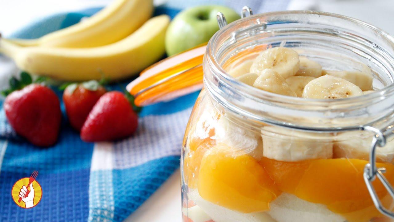 Como hacer ensalada de frutas light