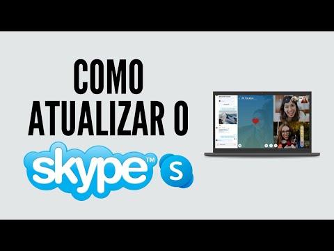 Como atualizar o Skype - Windows 7, 8, 8.1, 10 - 2016