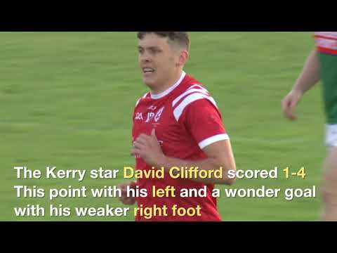 Download David Clifford scores 1-4 as East Kerry are crowned 2020 SFC of Kerry by beating Mid Kerry in final