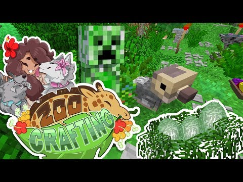 Dodo Bird & Creeper Cross-Breed Egg Surprises!! 🐼🌿 Zoo Crafting • Side Quest