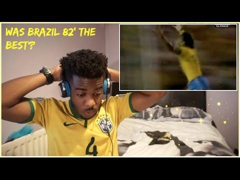 BRAZIL 82' BEAUTIFUL FOOTBALL 🔥🙌 | Reaction