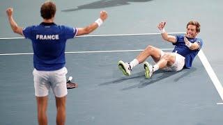 Francia elimina sin miramientos a España en la Copa Davis