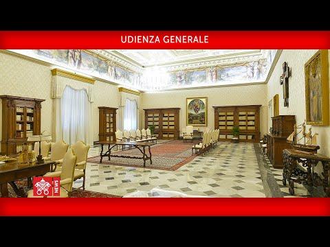 Udienza Generale 22 aprile 2020 Papa Francesco