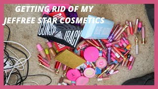 GETTING RID OF MY JEFFREE STAR COSMETICS | SoJo Beauty