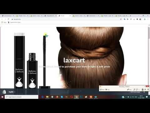 Product Editing  In SHOPIFY Store /Adding Products In Your SHOPIFY Store thumbnail