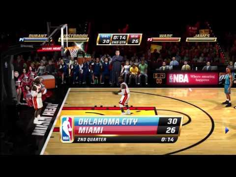 NBA Jam - Heat vs Thunder
