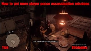 How To Win More Posse/Player Assassinations - Red Dead Redemption 2 Online