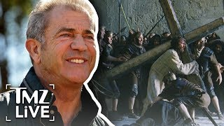 Mel Gibson Making Passion Of The Christ Sequel | TMZ Live