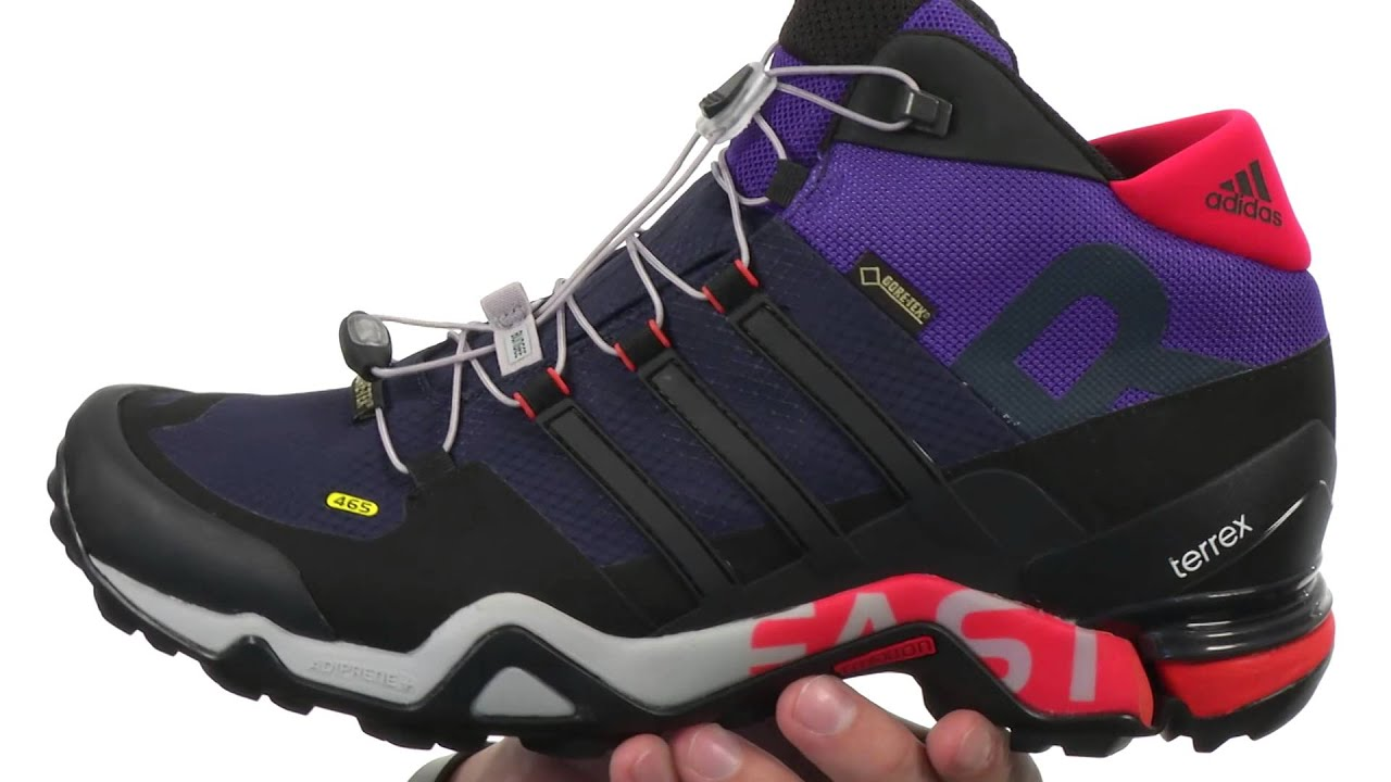 e962d0bac2d30 adidas Outdoor Terrex Fast R Mid GTX® SKU 7983311 - YouTube