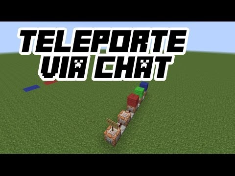 minecraft how to speak in chat with command blocks