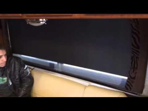 Rv Dual Motorized Window Shade Youtube