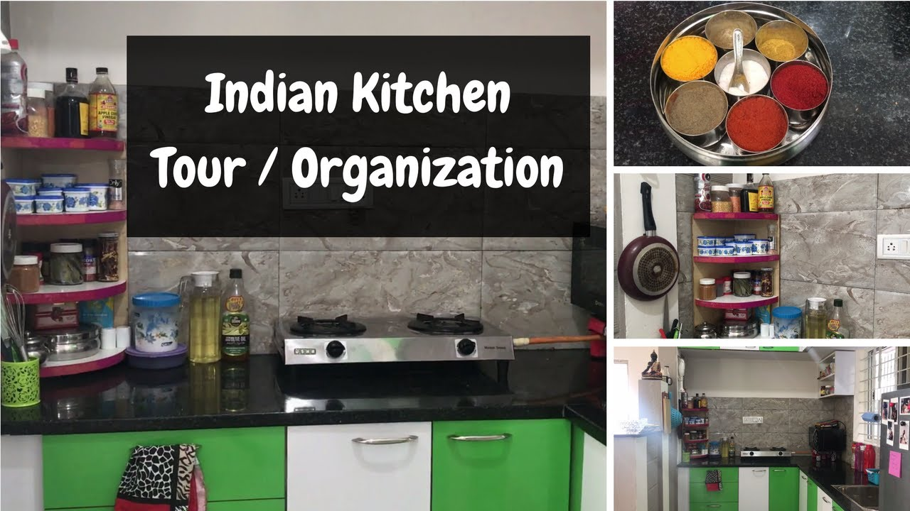 Indian Kitchen Organization Ideas Small Indian Kitchen