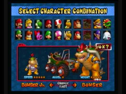 Let S Play Mario Kart Double Dash W Comicmischief100 Part 1 Karts And Characters