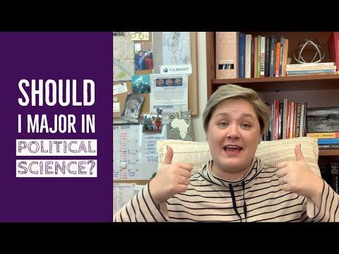 Should I Major in Political Science?