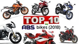 Top 10 ABS bikes of India 2018 ||ABS bikes under 2 lakh (Indian bikes)