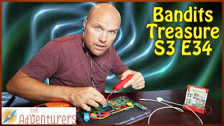 Building A Lie Detector Test To Catch The Traitor! Bandits Treasure S3 E 34