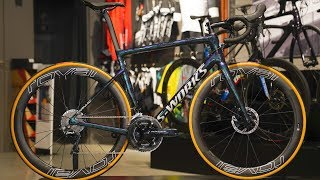 Gambar cover BIKE BUILD - Specialized Tarmac S-Works SL6 Disc in gloss chameleon look