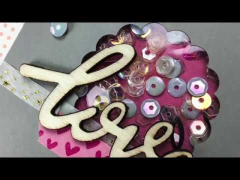 DIY Embellishments Using Paper Punches! // Easy Shaker Window Tutorial!