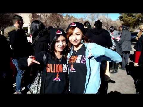 Capital High School 1 Billion Rising Flash Mob
