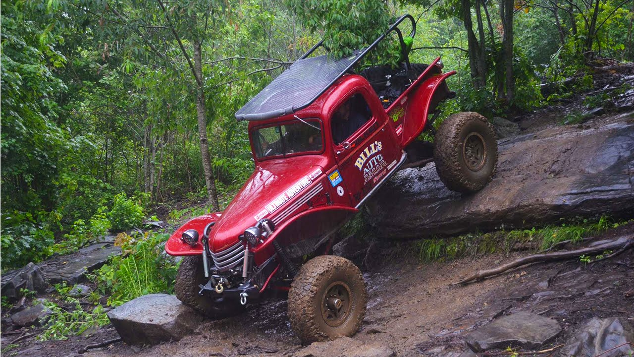 Tidssvarende Durthamtown Tellico Off-Road Park, NC to Camp Canoeligan - Part VR-22