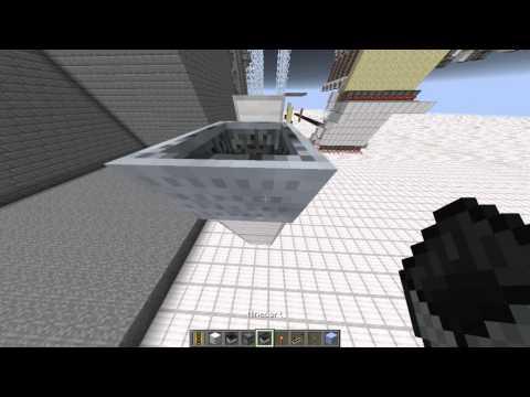 [Minecraft Tutoriel] Déplacer Des Minecarts Sans Les Rails - Fix 1.8