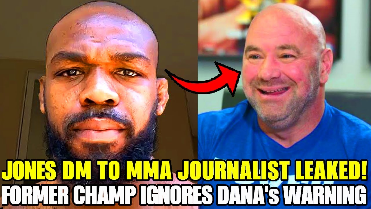 Download LEAKED: Former UFC champ sends DM to MMA Journalist due to coverage 🔥 Dana White warns, UFC Vegas 40