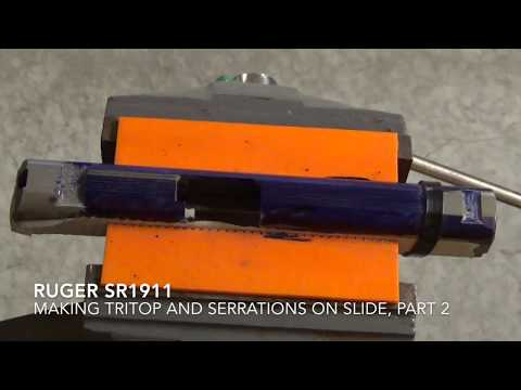 RUGERSR1911Tritop and serrations, Part 2